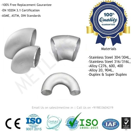 Elbow Manufacturers, Suppliers, Factory