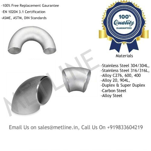 Pipe Elbows & Bends Manufacturers, Suppliers, Factory