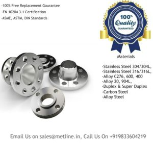 Titanium Flanges Manufacturers, Suppliers, Factory