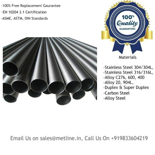 Titanium Seamless Pipes Manufacturers, Suppliers, Factory