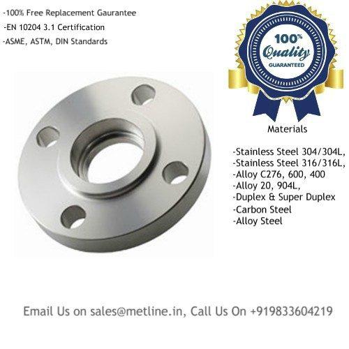 Titanium Socket Weld Flanges Manufacturers, Suppliers, Factory