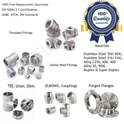Forged Fittings Socket Weld Fittings Threaded Fittings Manufacturers, Suppliers, Factory