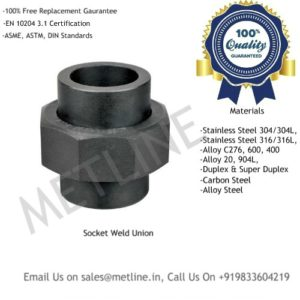 Carbon Alloy Steel Socket Weld Union Manufacturers, Suppliers, Exporters
