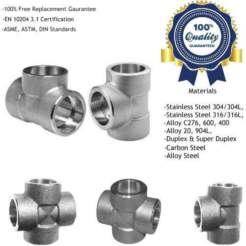 Socket Weld Tee Cross Manufacturers, Suppliers, Factory