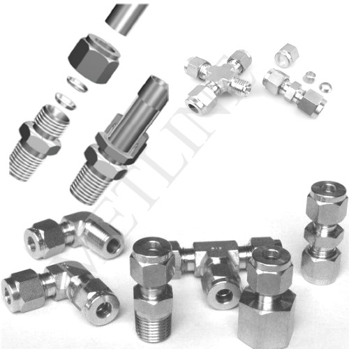 Double Ferrule Fittings, Tube Fittings Manufacturers, Suppliers, Factory