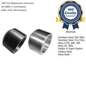 Socket Welding Boss Manufacturers, Suppliers, Exporters