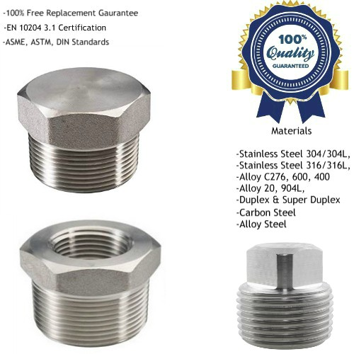 Hex Head Plug, Bushing Manufacturers, Suppliers, Exporters