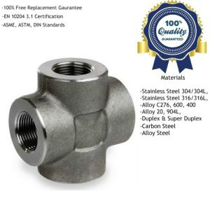 Threaded Cross Tee Fittings Manufacturers