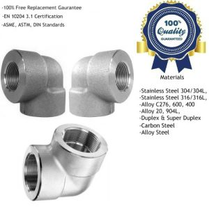 Threaded Elbow Fittings Manufacturers, Suppliers, Exporters