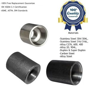 Threaded Screwed Coupling Manufacturers, Suppliers, Exporters