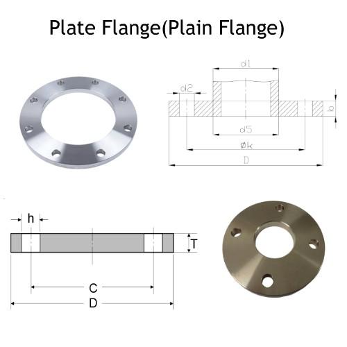 Plate Flange(Plain Flange) Manufacturers & Exporters